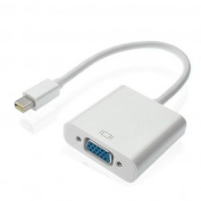 Mini DP Thunderbolt Display Port to VGA Video Converter Adapter Cable for Mac