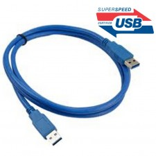 1.5M Super Speed USB 3.0 External Harddish Cable AM to AM