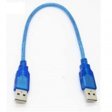 0.3M High Speed USB 2.0 Cable AM to AM