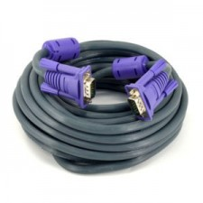 20M High Quality VGA/RGB Cable HD 15pin Male to Male 3C+6 for Projector Monitor
