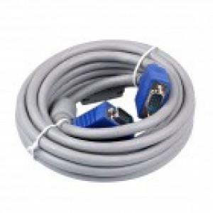 15M High Quality VGA/RGB Cable HD 15pin Male to Male 3C+6 for Projector Monitor