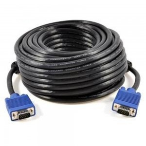 15M/20M/30M VGA/RGB Cable HD 15pin 3C+4 for HDTV Projector Monitor