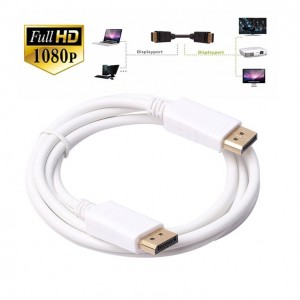 1.8M DisplayPort DP Male to DisplayPort DP Male Cable for Projector Monitor