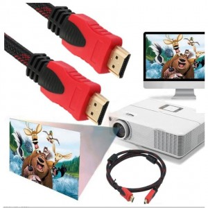 1.5M Full HD 1080P High Speed V1.4 HDMI Cable 3D