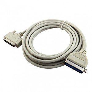 5M High Quality DB25 Parallel Printer Cable for Dot Matrix Printer