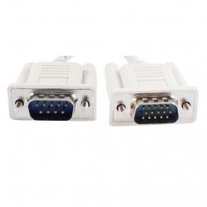 1.5M Serial 9Pin Male to Male Cable DB9 RS232