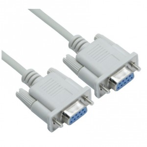 1.5M Serial 9Pin Female to Female Cable DB9 RS232