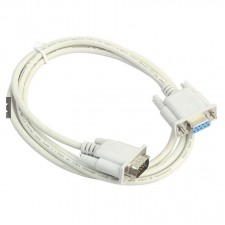 1.5M Serial 9Pin Male to Female Cable DB9 RS232
