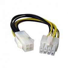 ATX 4 Pin Female to 8 Pin Male Cable Power Supply Adapter for Motherboard CPU
