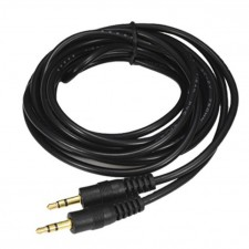 1.5M/3M/5M/10M Gold-Plated 3.5mm Stereo Audio Aux Cable Male to Male