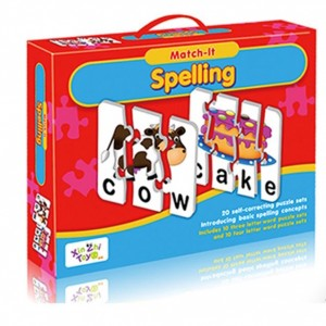 Match It Spelling 24 Puzzles