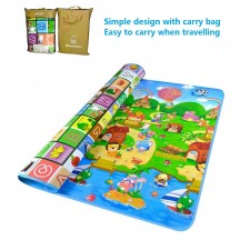 EcoToy Extra Large 200 x 180cm Baby Kid Toddler Care Crawling Floor Play Activity Game Mat Pad