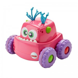Press 'n Go Monster Truck Pink - Toys Kid