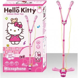 Hello Kitty Microphone Music and Sound Light