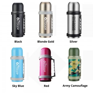1000ML Tumbler Vacuum Stainless Steel Thermal Flask Thermos Double Layers Bottle Mug 304