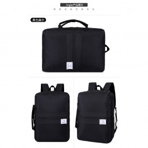 Bag Dual Function Travel Beg Laptop Backpack Hand Carry Casual Durable Light Weight