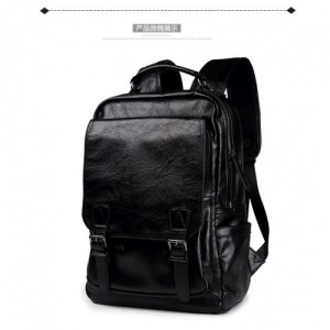 Durable Leather Backpack Design Travel Laptop Casual Bag 172