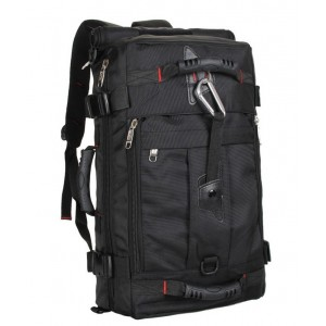 DURABLE Large Camping Backpack Outdoor Travel Hiking Trekking Bag Laptop Hand Carry Multifunction