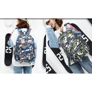 Bag Camouflage Backpack Laptop Durable Light Weight Waterproof Beg 411