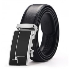 Doulilu Men Leather Quality Smooth Automatic Buckle Tali Pinggang Waist Belt 256