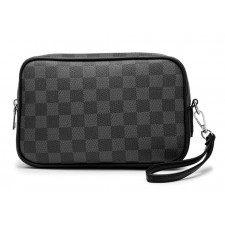 MEN Leather Hand Pouch Clutch Bag Purse Wallet Beg Casual Daily Use for Men Retro Classic Fashion