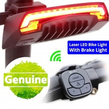Meilan X5 Smart Cycling Laser Light Brake Taillight Bicycle USB Rechargeable Bike Tail Light