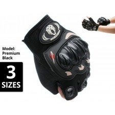 ROBESBON Half Finger Cycling Glove Bike Bicycle Gym Protection Sport Gloves