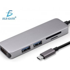 4 In 1 Type C Hub To HDMI 4K With 2 USB 3.0 And PD Charging Port USB C Multiport