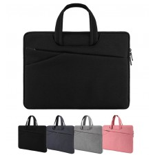 Protective Laptop Hand Carry Bag 15.6 inch Case Anti Shock Pouch Hangbag with Pocket for Notebook Macbook Tablet