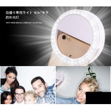 Selfie Portable Flash Camera Photography LED Ring Light