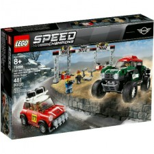 Lego 75894 Speed Champions 1967 Mini Cooper S Rally & 2018 Mini John Works Buggy