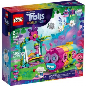 Lego 41256 Trolls World Tour Rainbow Caterbus