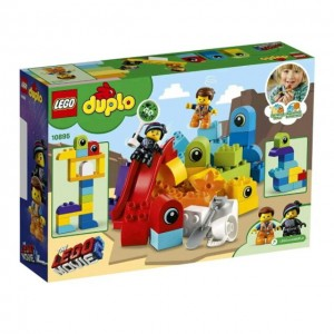 Lego 10895 Duplo Lego Movie Emmet and Lucy's Visitors From The Duplo Planet