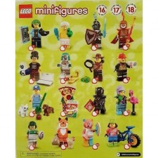 Lego 71025 Minifigures Series 19 Collectible Full Set (Set of 16PCS)