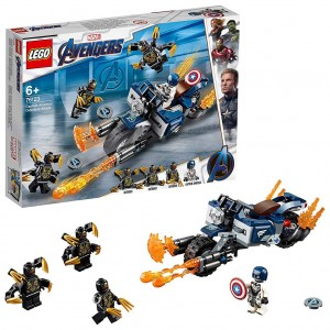 Lego 76123 Captain America: Outriders Attack