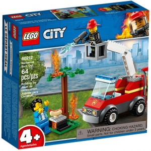 Lego 60212 City Barbecue Burn Out