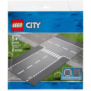 Lego City 60236 Straight and T-junction