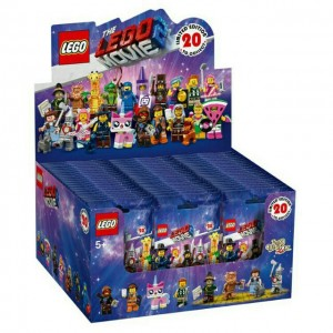 Lego 71023 The Lego Movie 2 Collectable Minifigures (Box of 60 packs)