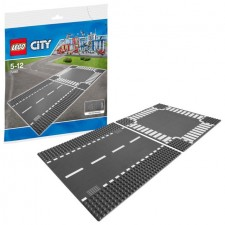 LEGO 7280 CITY Straight and Crossroad Base Plate