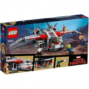 Lego 76127 Captain Marvel And The Skrull Attack