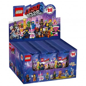 Lego 71023 The Lego Movie 2 Collectable Minifigures (Set of 20 packs)