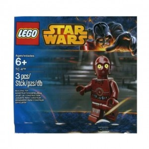 Lego TC-4 Star Wars Polybag Minifigure 5002122 Sealed
