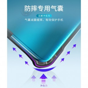 Oppo Reno / Reno 10x Zoom Transparent Shockproof Phone Case Cover Casing