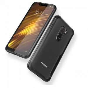 Xiaomi Pocophone F1 Soft Ultra Hybrid TPU Transparent Phone Case Cover Casing