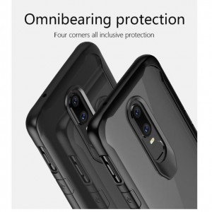 OnePlus 6 Ultra Hybrid Clear Fusion Phone Case Cover Casing