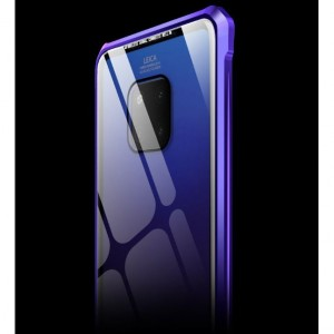 Huawei Mate 20 / Mate 20 Pro Tempered Glass Metal Bumper Phone Case Casing Cover
