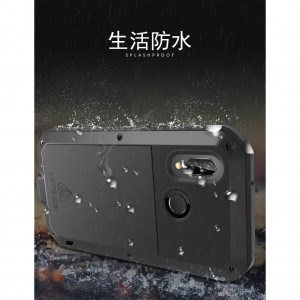 HUAWEI NOVA 3E LOVE MEI METAL PROTECTION PHONE CASE COVER CASING SHOCKPROOF