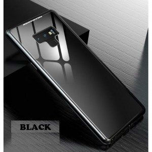 Samsung Galaxy Note 9 Magnetic Metal Phone Case Cover Casing