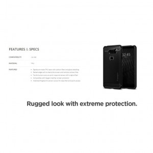 LG V30 Rugged Armor Case Cover Casing
