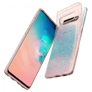 Liquid Crystal Glitter Samsung Galaxy S10 / S10 Plus Phone Case Casing